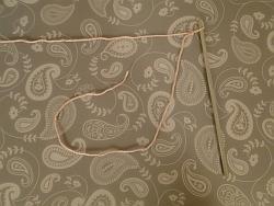 slip knot on hook