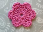 roundish flower in pink