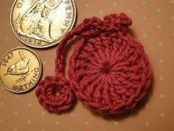Crochet Penny Farthing