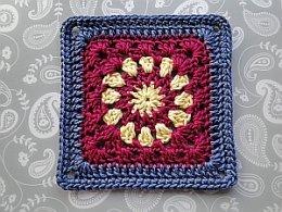 Cosmic Crochet Square