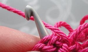 Hook under 3 loops