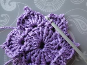 slip stitch finishing