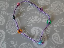 bracelet with all the beads and at longest length
