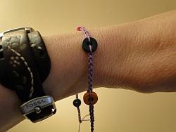 my wrist with bracelet so far
