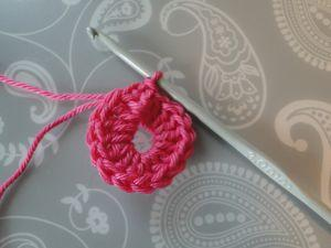 circle joined with a slip stitch