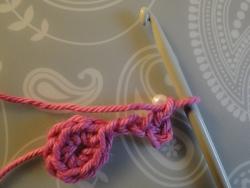 one chain around bead
