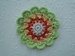 Original Flowery Cosmic Coaster