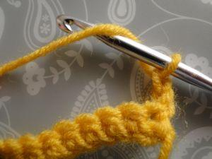 yarn around hook