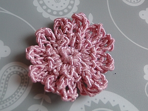 Small Crocheted Flower