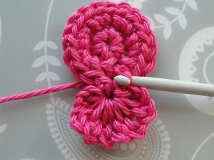 Working the slip stitch