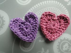 Thread weight hearts