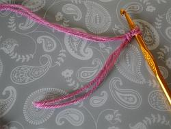two strands in a slip knot