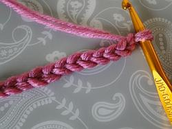 a thick two strand chain
