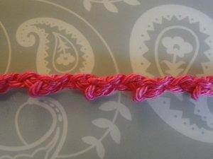 longer pink braid