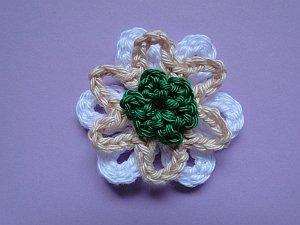 Pointy Loop Slip Stitched, Whirloop, 3-ch Loopy Loop