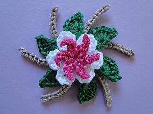 Pointy Loop Mini, Swirls, Leaves on a Round, Longlegs