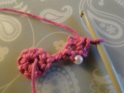 next stitches to create pattern