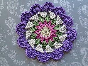 Flowery Cosmic Coaster