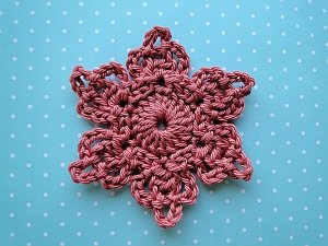 Grace's Flower crochet pattern