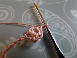 seven stitch crochet bobble